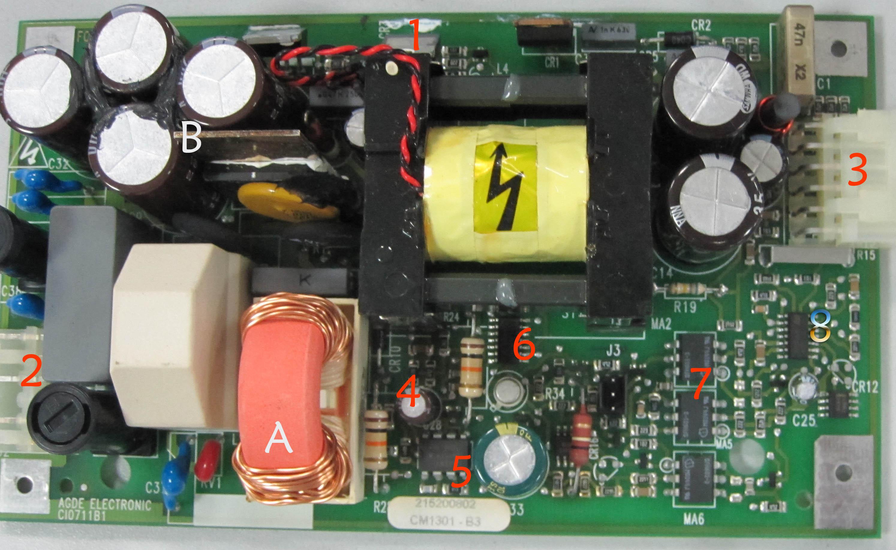 69 其它设备维修 69 [原创]开关电源(smps)的维修  电源板 没有看